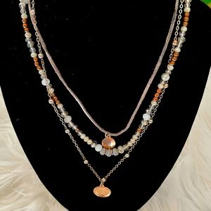 Maurices Multi Chain Layered Necklace